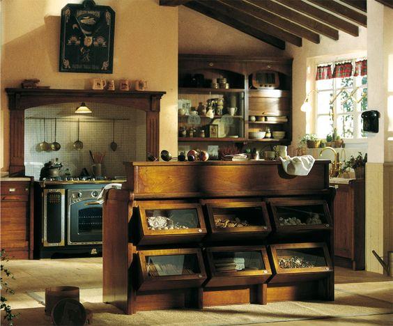 Country Style   Italienische Landhausküche Just Love The Fridge   Italienische  Landhauskuchen Gestaltungen Ideen