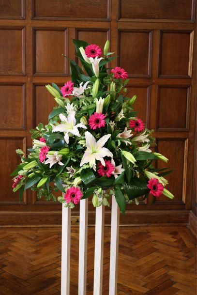 Silk flower arrangements flower arrangements and gerbera for Martha stewart floral arrangements