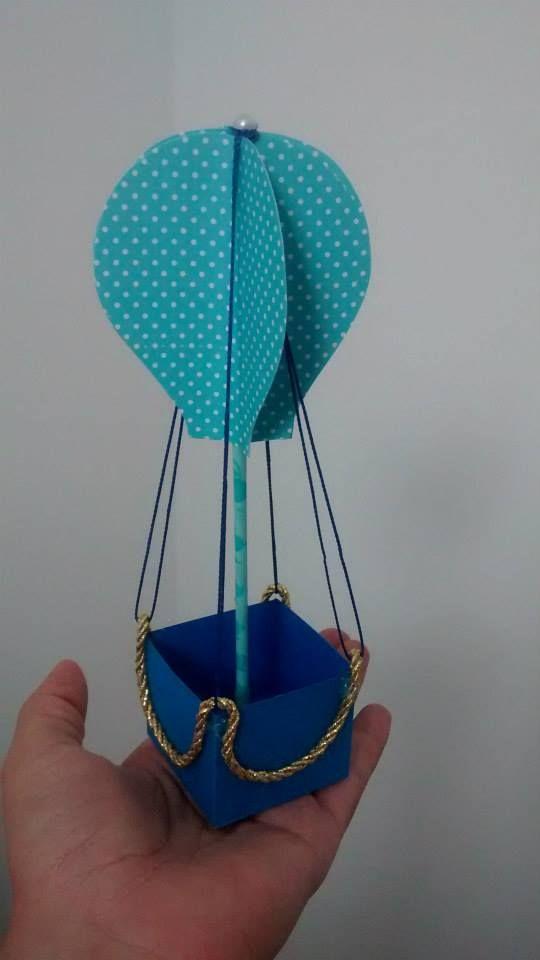Enfeite De Balão ~ Bal u00e3o para enfeite de mesa, lembrancinha serve como porta doce Festa Bal u00e3o Pinterest Mesas