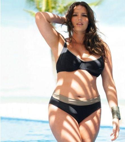 Bikini grande taille ronde psfashion fatkini maillot de bain grande tail - Catalogue la redoute grande taille ...