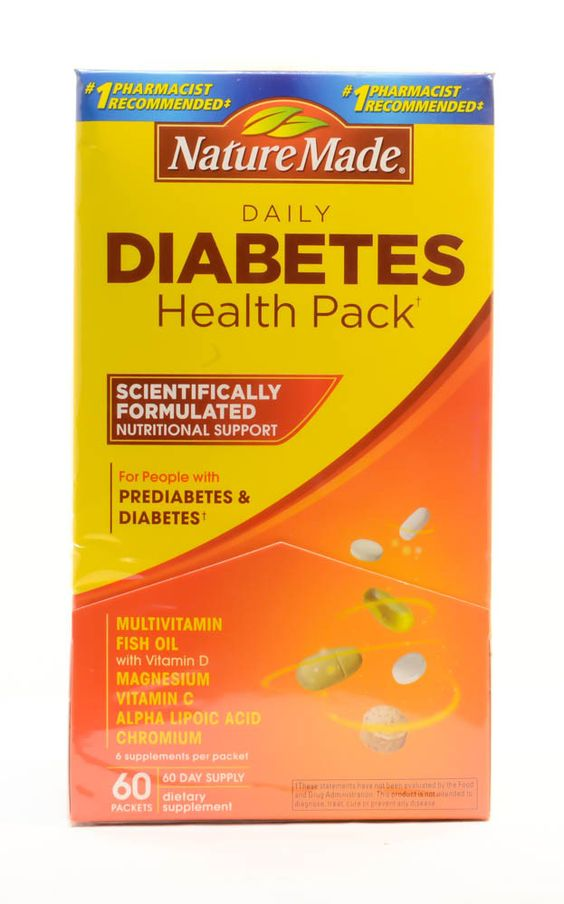 Daily Diabetes Health Pack by Nature Made