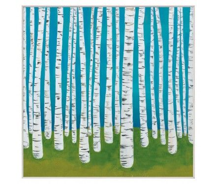 Though, I may love this painting even more. Birch Grove by Lisa Congdon.