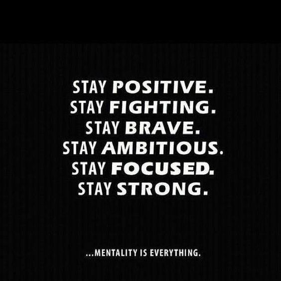 Stay... motivated