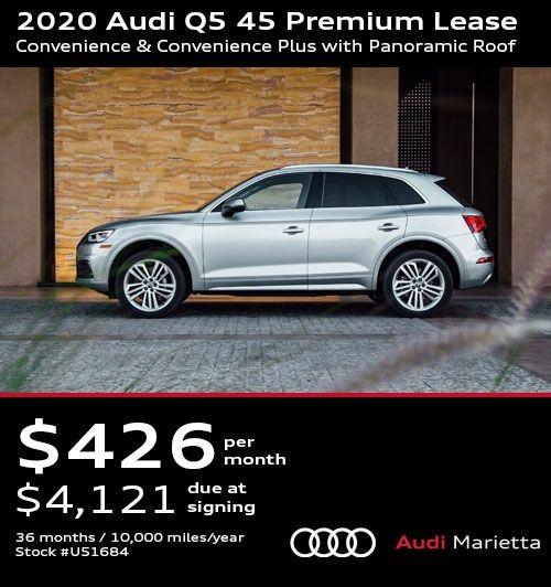 2020 Audi Q5 45 Premium Lease Convenience Convenience Plus With Panoramic Roof Audi Dealership Audi Audi Q5