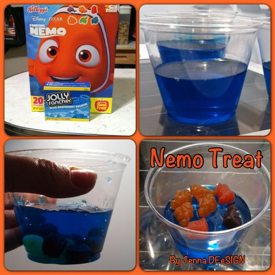 Finding Nemo Birthday Treats For School. I Would Save Out
