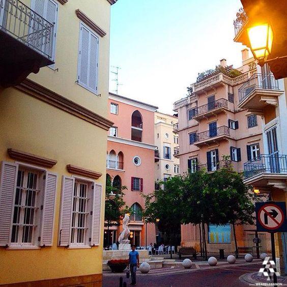 Saifi village of #Beirut, #Lebanon