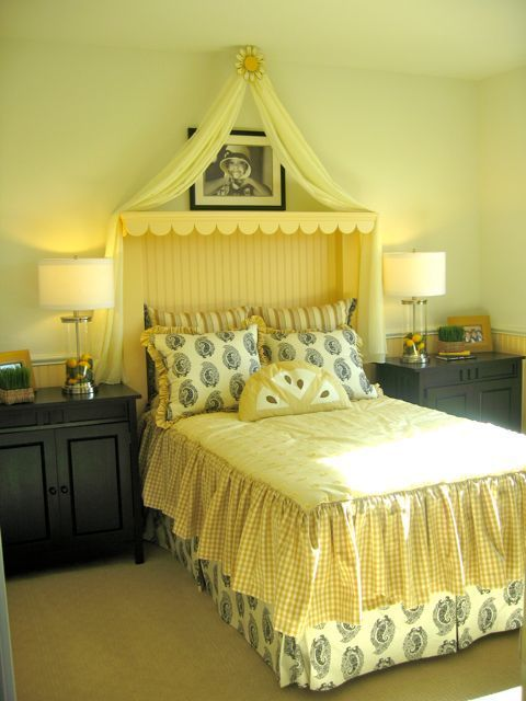 Sweet Girls Lemonade Room By Lennar When Life Give You Lemons Use Them In Your Decor To Match The Adorable Yellow Hea Yellow Kids Rooms Yellow Room Girl Room Lemon yellow bedroom ideas
