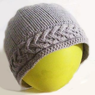 Dove Knitting Pattern : Knitting - Crowned Dove hat and Beanie - Knit in fine merino wool, this hat c...