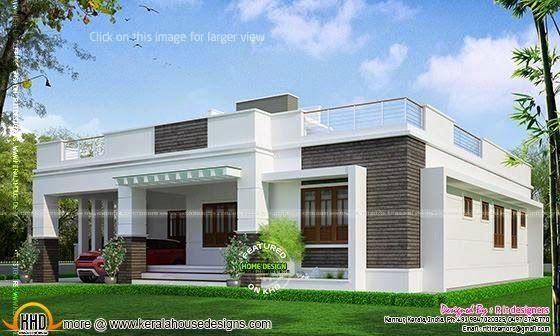 Elegant Single Floor House Design Single Floor House Design House Roof Design Simple House Design