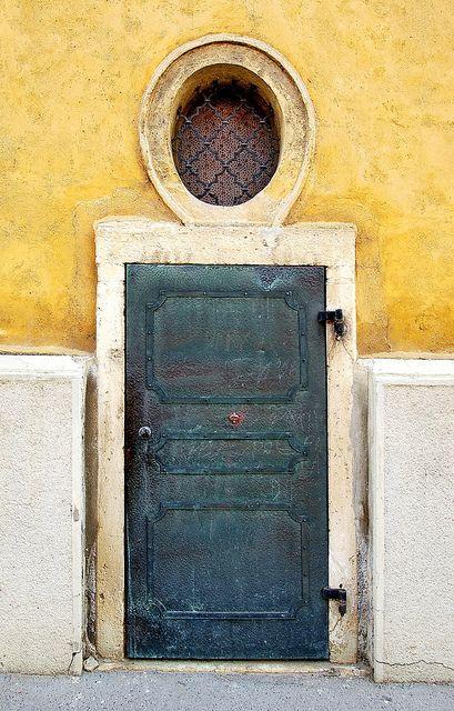 Iron side door by elinor04, via Flickr