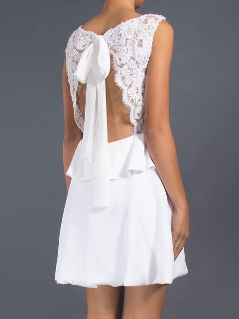 Martha Medeiros Vestido Branco - Martha Medeiros - Farfetch.com