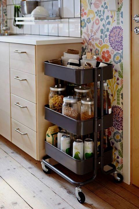 10 Insanely Sensible Diy Kitchen Storage Ideas In 2020 Small Kitchen Storage Small Kitchen Organization Diy Kitchen Storage