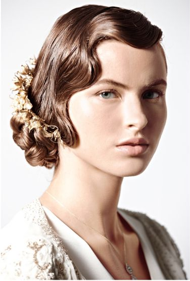 1920s waves for long hair!