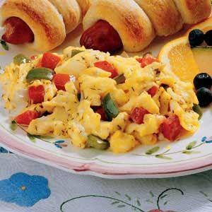 Calico Scrambled Eggs Recipe