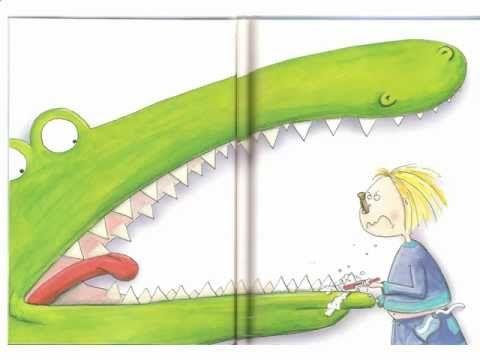 Jaap de krokodil.mov - YouTube krokodil met kiespijn, gesproken voorleesboek