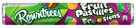 Rowntree's Fruit Pastilles Froosions launching in June