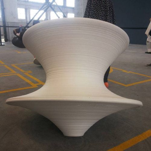 Spun By Thomas Heatherwick Magis Spun Rotating Lounge Chair Outdoor Leisure Chairs China Office Chairs Fibergl Leisure Chair Lounge Chair Outdoor Art Chair