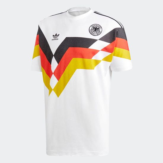Adidas Originals Germany 2018 Retro Jersey Released Footy Headlines World Cup Shirts Old Football Shirts Jersey