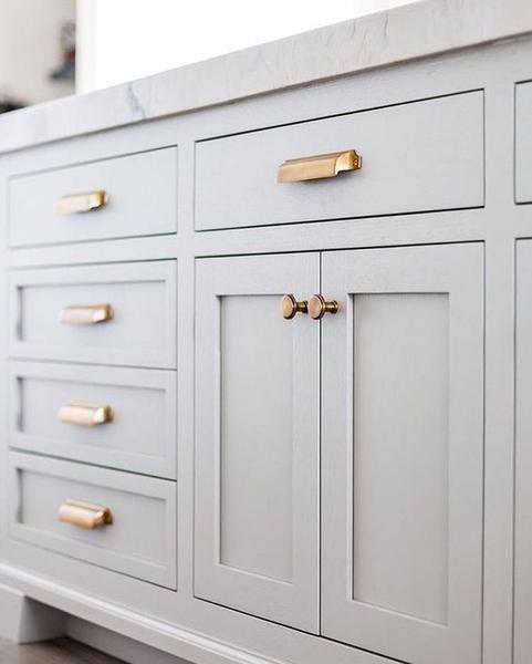 New Brass Bronze Cupboard Handles For 2018 Kitchen Hardware