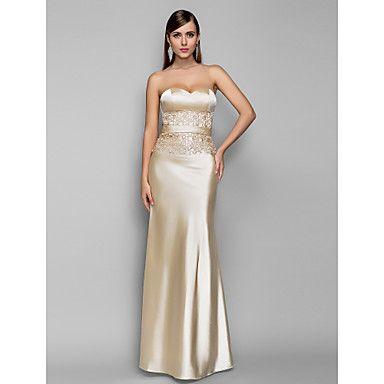 Vestido - Longo - Sem costas - Sereia - Curação – BRL R$ 294,27