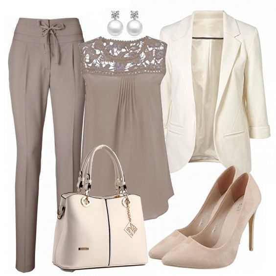 Business Outfits: BusinessLady bei FrauenOutfits.de #fashion #fashionista #inspiration #mode #kleidung #bekleidung #damen #frauen #damenkleidung #frühling #frühjahr #frauenoutfits #damenoutfits #outfit
