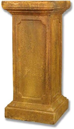 New York Newel Outdoor Garden Pedestal for Planters Urns