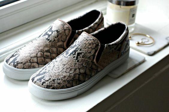 H&M python slip-on
