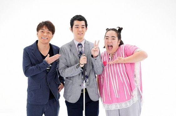 陣内智則さんとゆりやんレトリィバァと濱田祐太郎さん