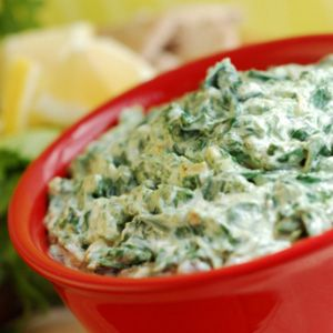 Healthy Spinach Vegetable Dip