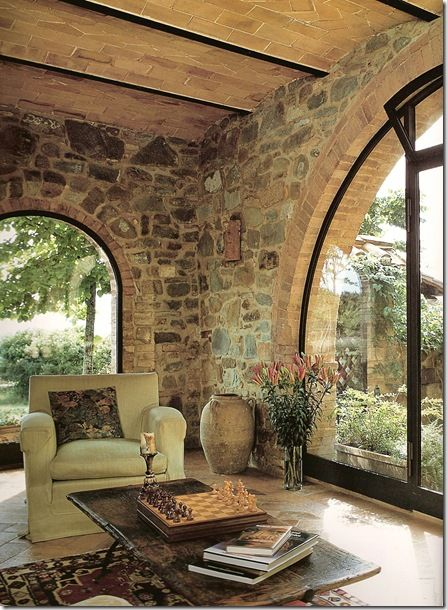 """from the book, """"Restoring a Home in Italy"""".  THEY'D HAVE TO """"RESTORE"""" ME IF I EVER MANAGED TO GET A HOUSE LIKE THIS IN ITALY!!!!"""