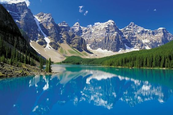 Take an excursion deep into Banff National Park and see stunning Moraine Lake, Valley of the Ten Peaks, and Lake Louise.