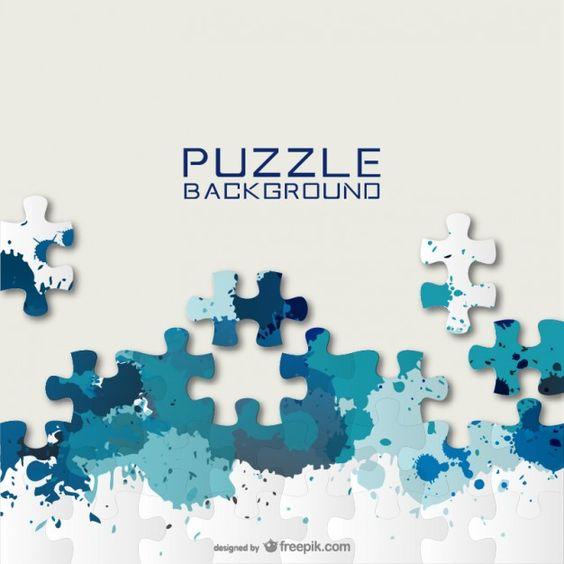 Fond de puzzle gratuit pour le téléchargement | Colors ...