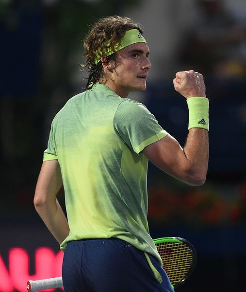 Stefanos Tsitsipas Reaches His First Atp 500 Qf At Dubai Tennis Champion Sports Lover Athlete