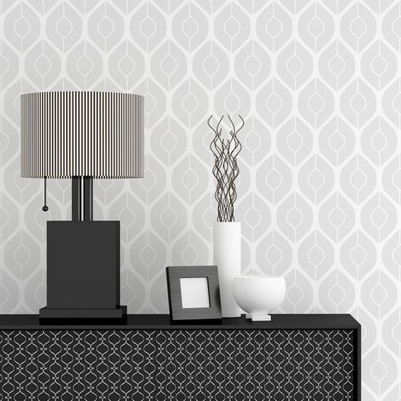 ... Home Decor • Interiors • Feature Wall • Wallpaper alternative