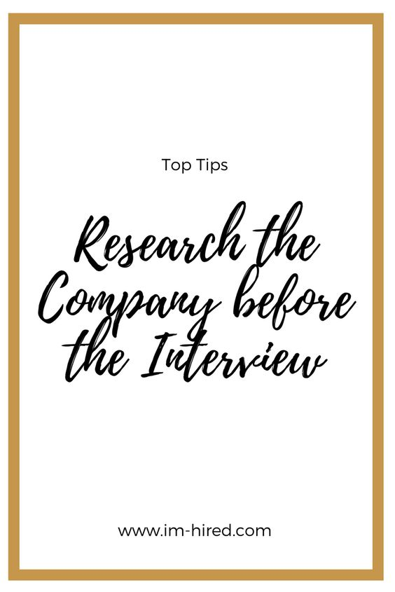 Research is so important, you need to know about the company and the role and feed that information through in your interview.