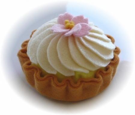 pastel de fieltro 3 pastel fieltro cosido