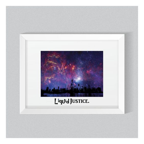 City Skyline in Space, Digital Wall Print, home decor, inspiring quotes, wall…