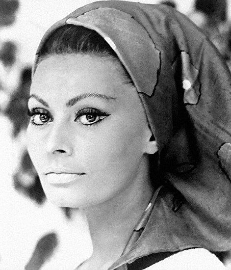Sophia Loren- true Italian beauty.