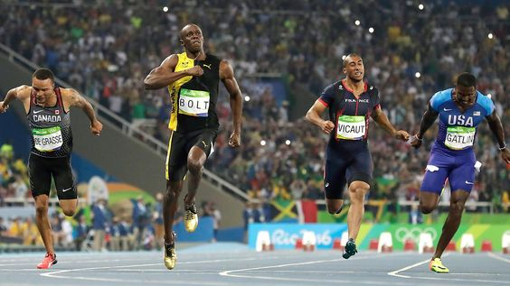 """Olympia-Wettbewerbe im Überblick: Bolt-Show, 400m-""""Massaker"""", epische Fights"""