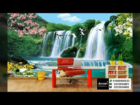 3d Wallpaper Waterfalls Youtube 3d Wallpaper Waterfall Waterfall Wallpaper