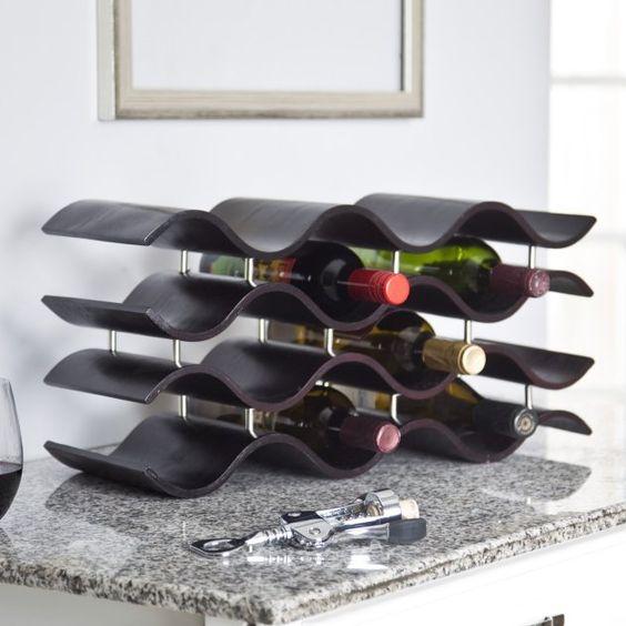 Bali 12-Bottle Wine Rack - Wine Racks at eWine Racks