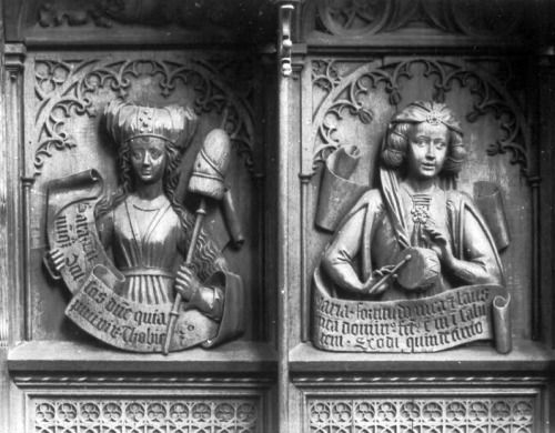 Sculptures from Ulm Cathedral, c. 1469-74, Germany: