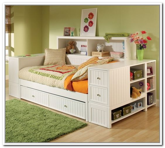 Daybed with storage daybeds and full daybed on pinterest Daybeds with storage