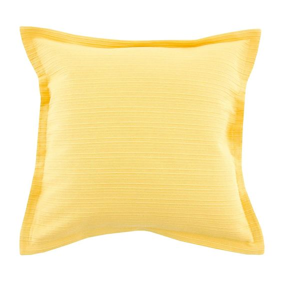 Oxford Edge Slub Cushion   Dunelm