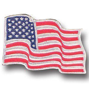 Collector Pin - American Flag . $13.66
