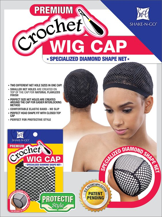 Wig Cap Diamond Shapes And Wigs On Pinterest