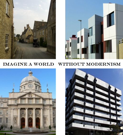 Acção Integral: Imaginem um mundo sem modernismo