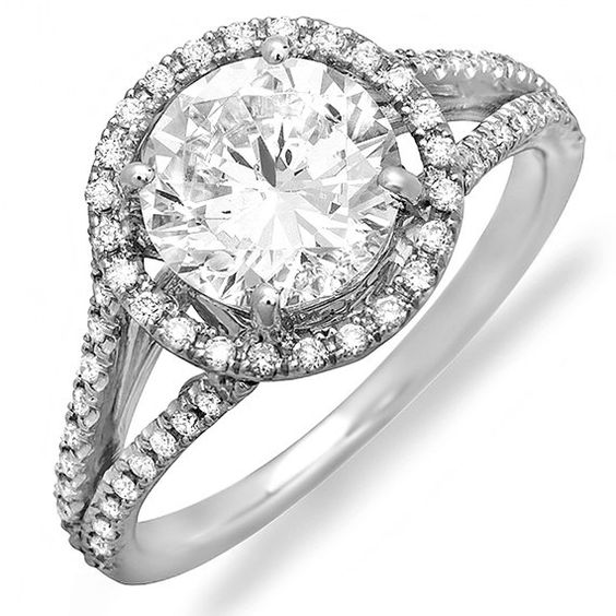 Hey I deserve a pushing present!!! Platinum Diamond Engagement Ring by MasterPieceJewelers on Etsy, $1795.00