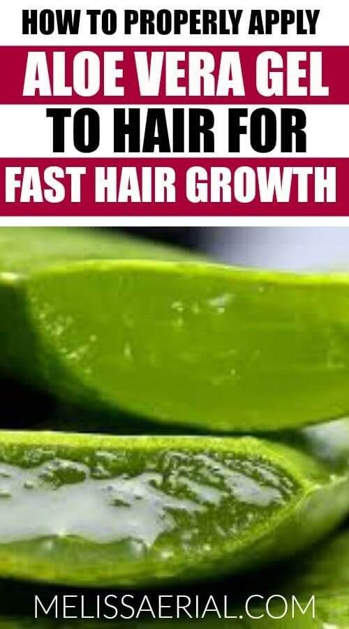 The Best 5 Ways To Use Aloe Vera Gel For Hair Growth Aloe Vera