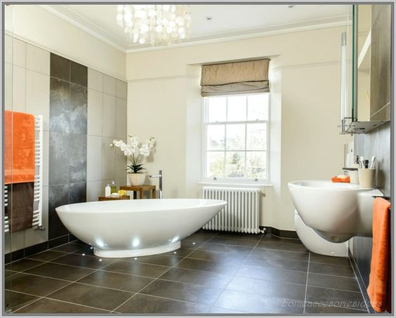 Anthrazit Bad Mit Mosaik Fliesen braun Ideen Große Bodenfliesen In - ideen fürs badezimmer